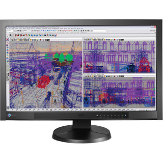 EIZO FlexScan SX2762W Widescreen LCD H-IPS Monitor Front