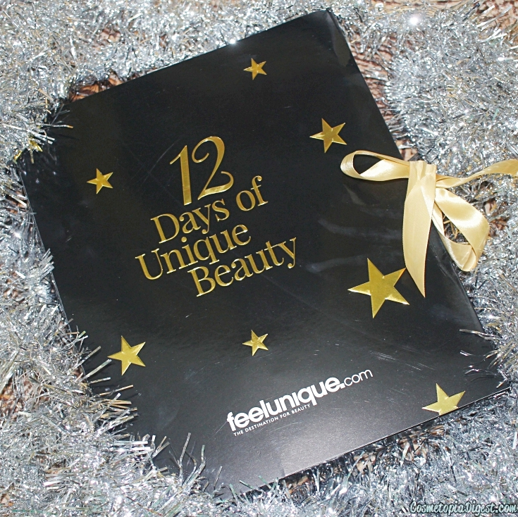 Review and unboxing of the FeelUnique 12 Days of Unique Beauty Advent Calendar 2015.