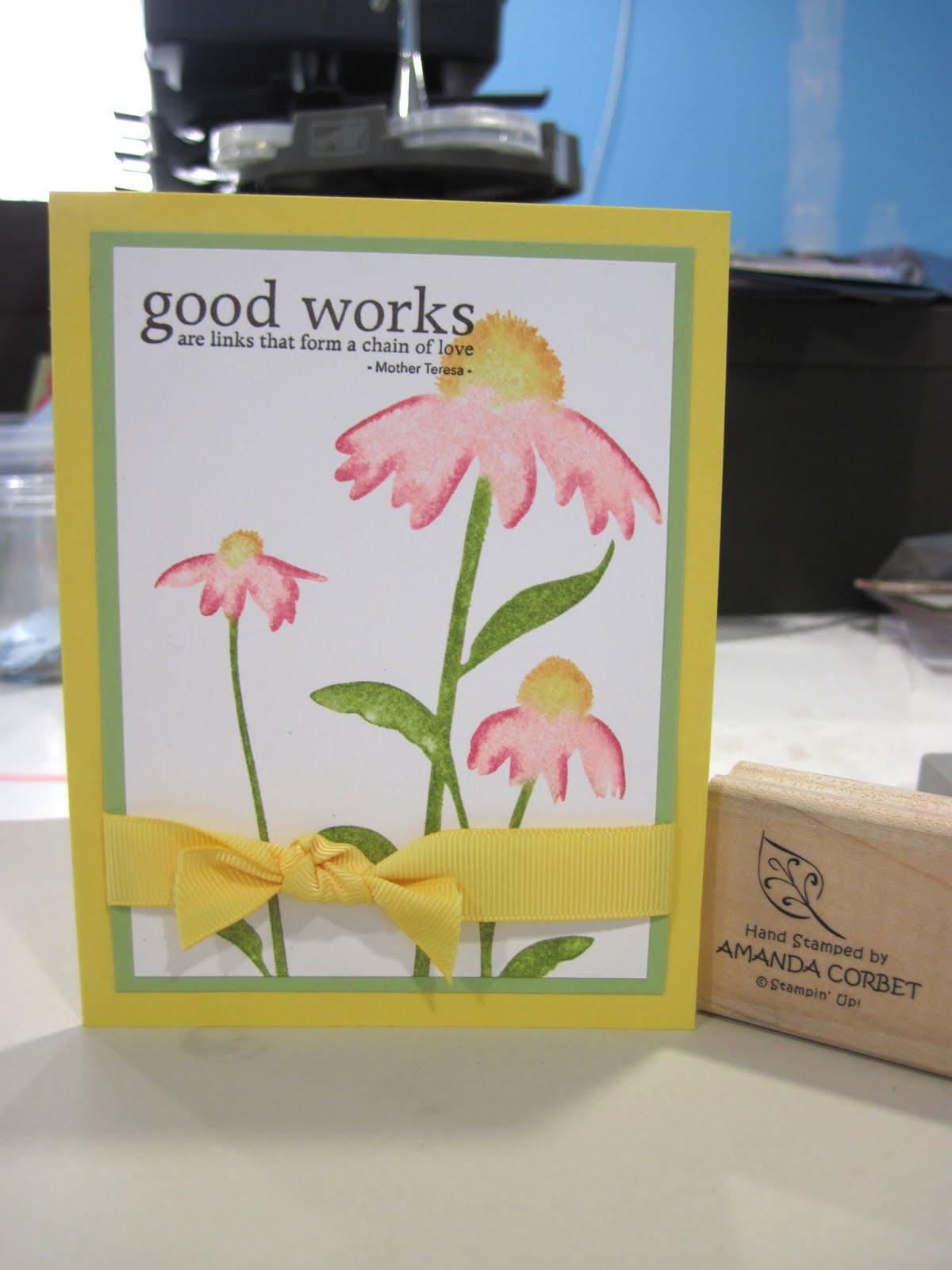 Inspiring Good Works