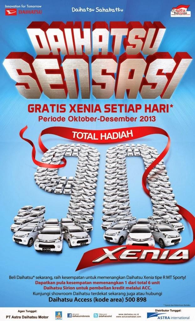 Promo Daihatsu! Sensasi Akhir Tahun 2013!