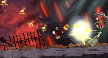 Rayman Jungle Run walkthrough for iphone, ipad, ipod touch