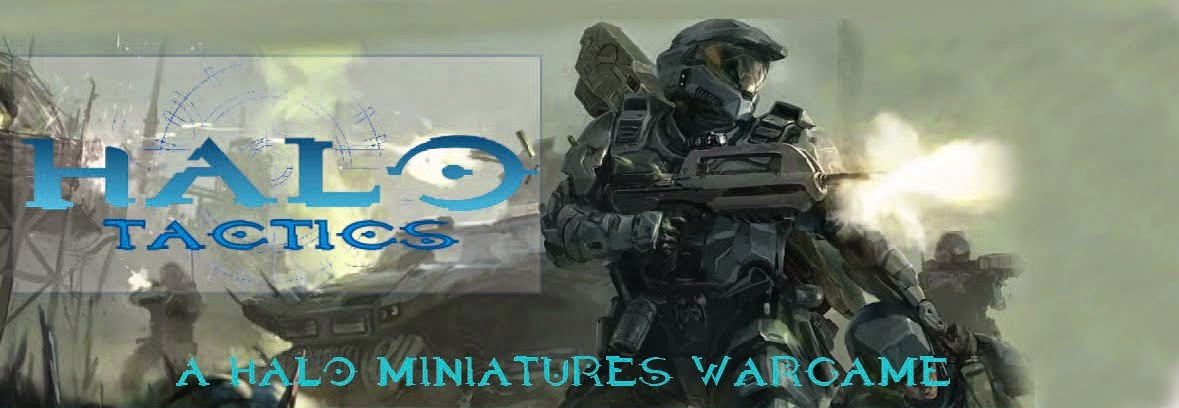 Halo Tactics Miniatures Wargame