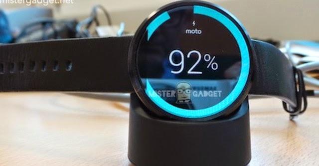 Moto 360 có thể hoạt động liên tục 2,5 ngày
