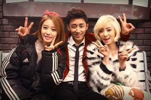 T-ara eunjung and jiyeon