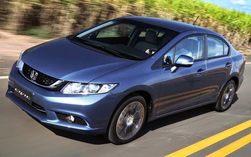 Novo Honda Civic 2015 lançamento