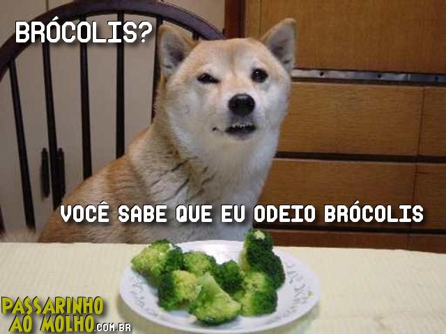 vei na boa, brócolis