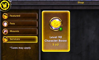 WoW's Level Upgrade