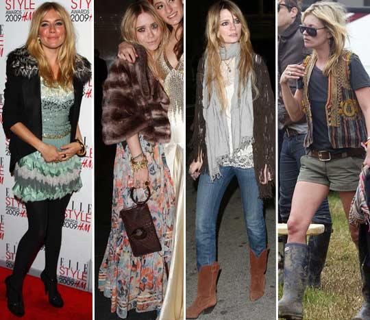 No estilo na moda entendendo os termos da moda - Estilo boho chic ...