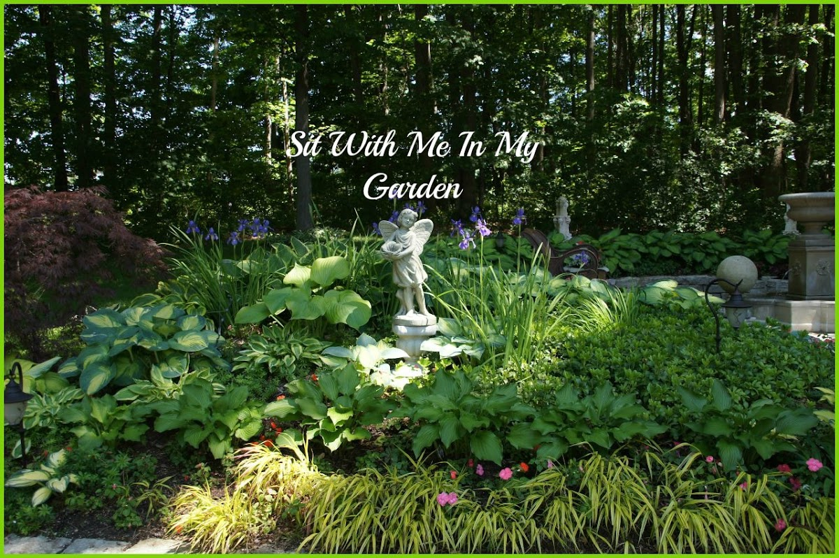 Sit With Me In My Garden