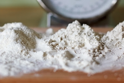 Refined 'white' flours