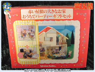 Japanese Sylvanian Families シルバニアファミリー  Large House - Party Giftset edition