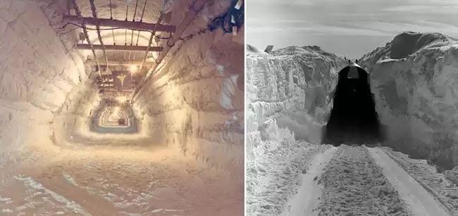 Το λιώσιμο των πάγων στη Γροιλανδία θα αποκαλύψει θαμμένη στρατιωτική βάση πυρηνικών! [Βίντεο]