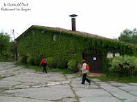 La Caseta del Pont, actual Restaurant Les Gorgues, havia estat un hostal de traginers arran del Camí Ral de Vic a Olot