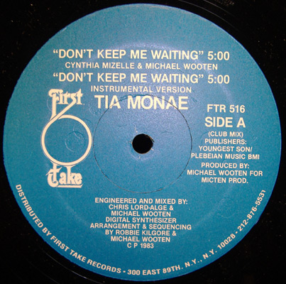 Tia Monae Dont Keep Me Waiting