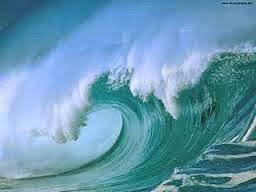 ONDAS EM ÁGUA DOCE - Foi mar que já deu ondas