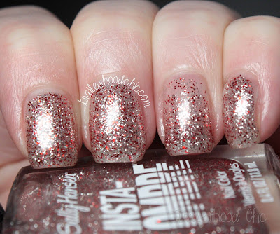 sally hansen insta ombre review swatches scarlet spark