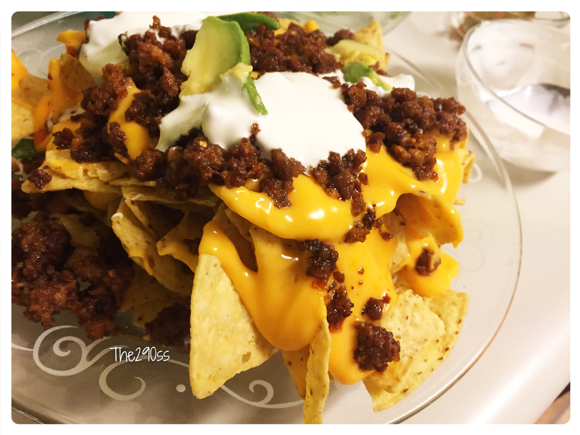 The290ss ground beef nachos dinner recipe for What can i make with hamburger for dinner