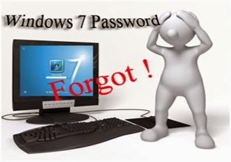 recover Windows 7 login password