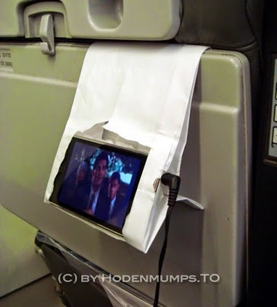 DIY iphone ipad touch holder