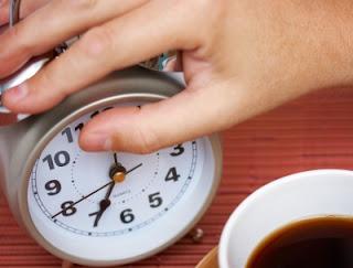 shutting off alarm clock