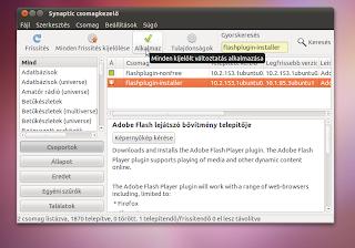 Ubun tu Linux 10 10 flash helyrehozás