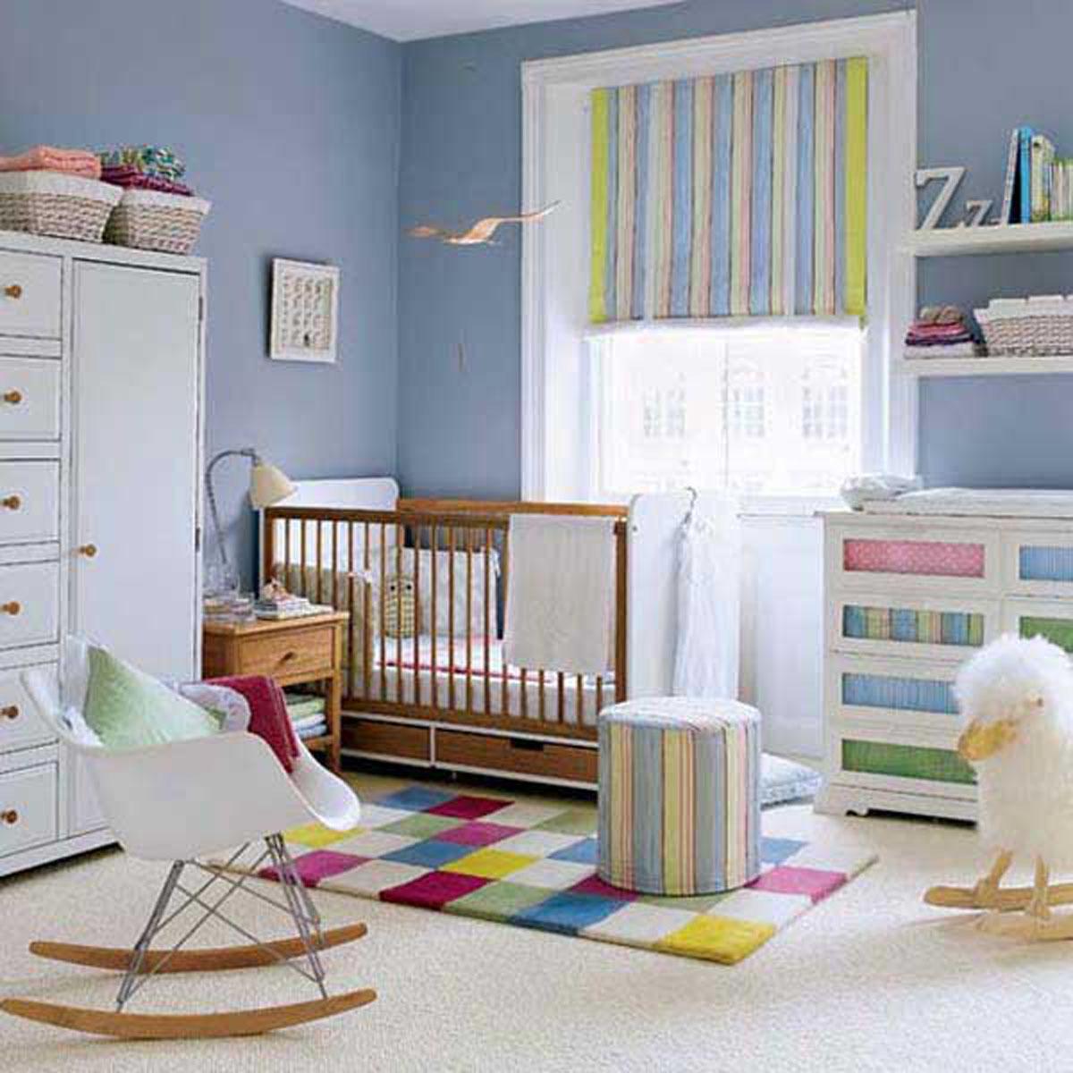 Modèles de décoration chambre bébé   bébé et décoration   chambre ...