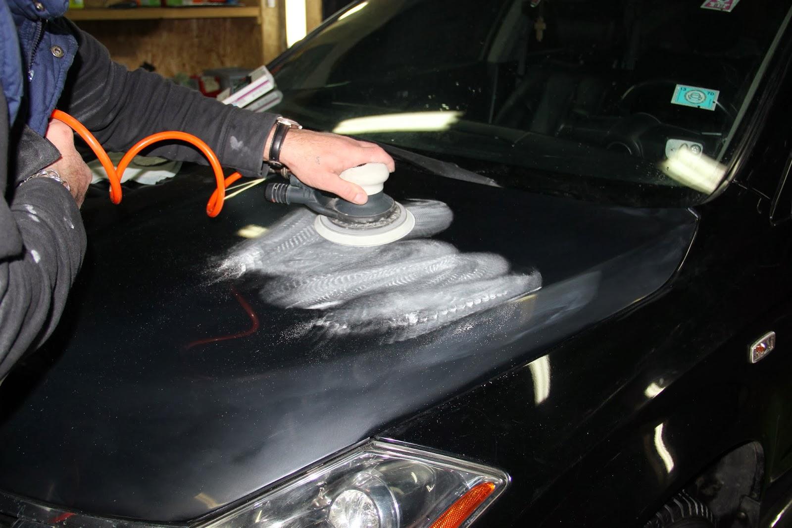 Как удалить и устранить царапины на стекле автомобиля своими руками 90