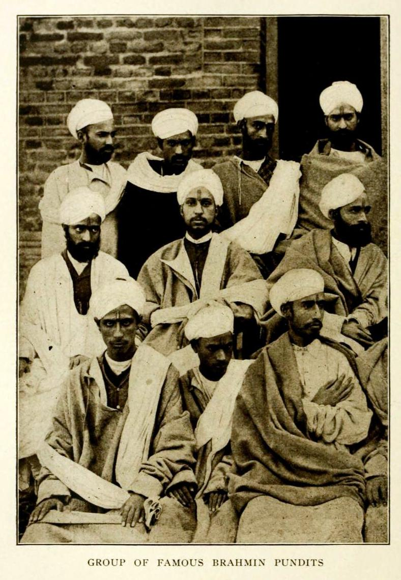 group of kashmiri pandits  1909
