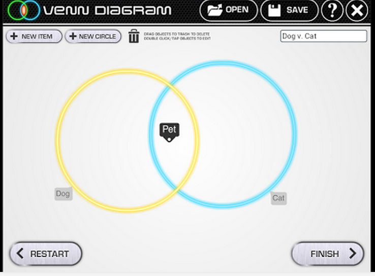 A Great Free Tool For Creating Venn Diagrams Educational