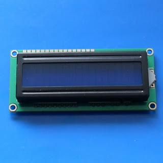 LCD biru