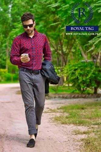Royal Tag Winter Dress 2015 for Men