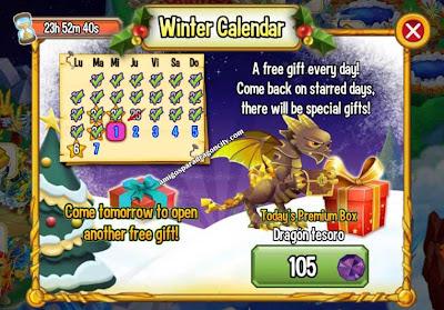 imagen del premium box del dragon tesoro