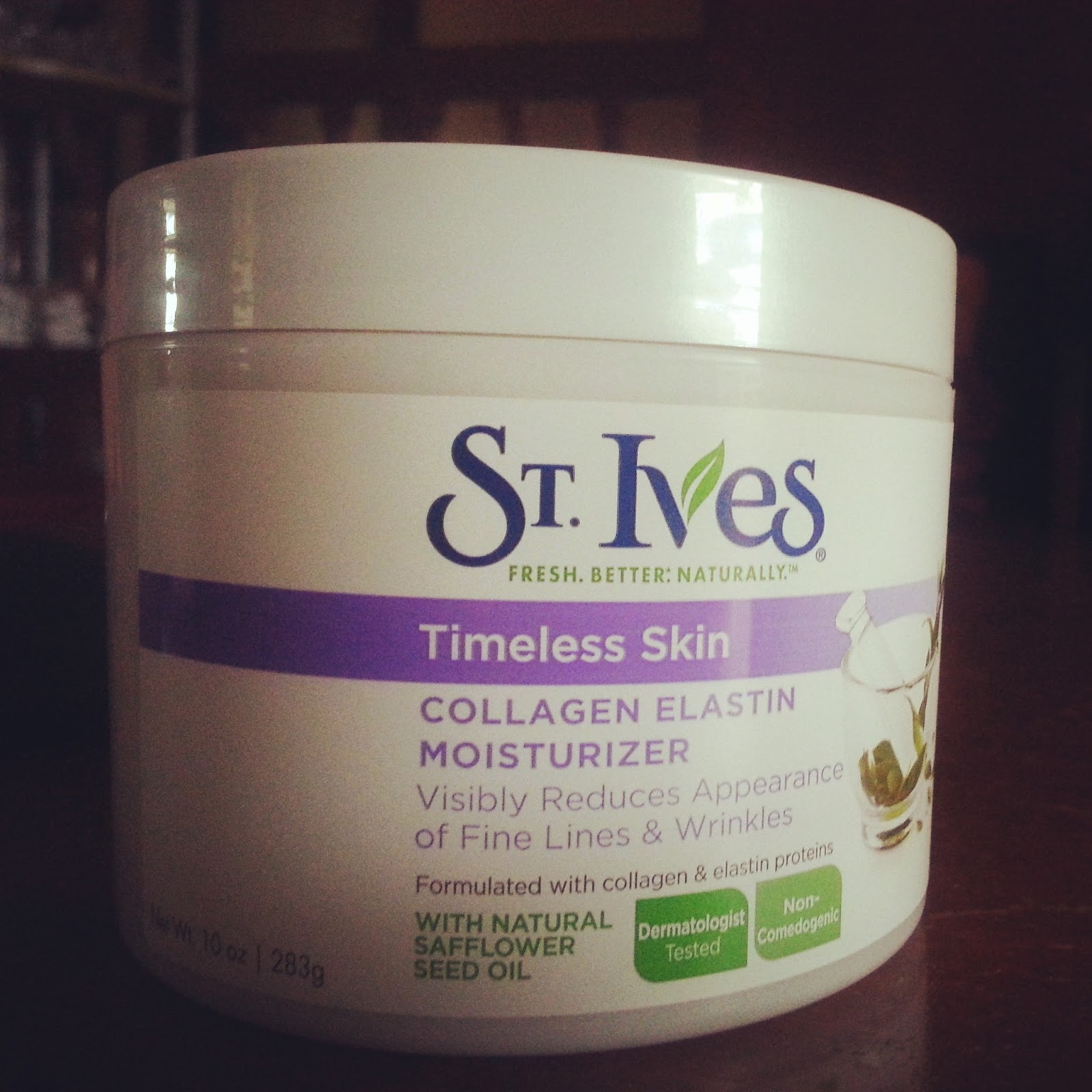 St ives timeless skin moisturizer reviews
