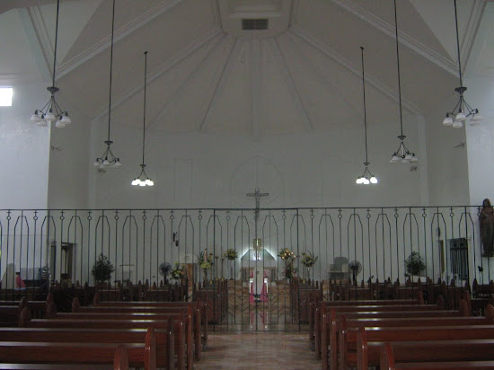 Pink Sisters - Inside the Adoration Chapel