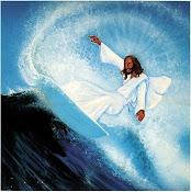 O primeiro Surfista!! Jesus!!