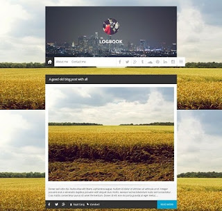 Template Blogspot - Logbook - Responsive