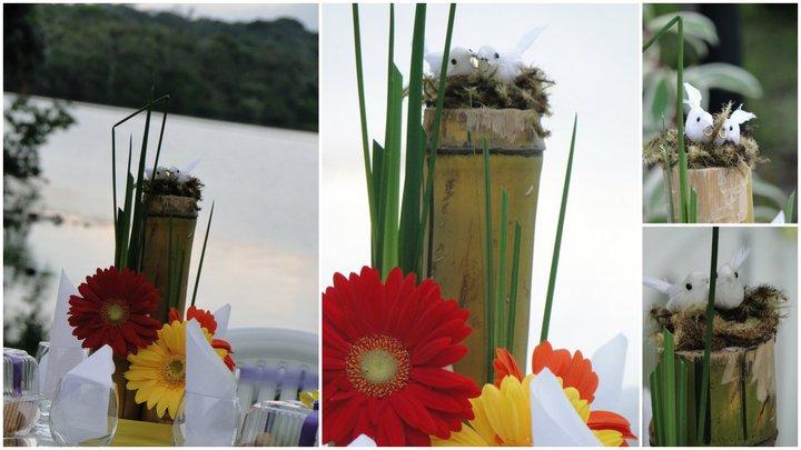 enfeites para jardim japones:RAMA CERIMONIAL E DECORAÇÕES: CASAMENTO CAMPESTRE EM JURUTI