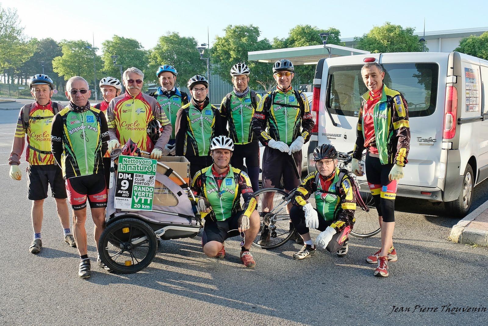 Les Brigades vertes du BCP et le Cyclo Portois pour nettoyer nos chemins ce dimanche 9 avril !