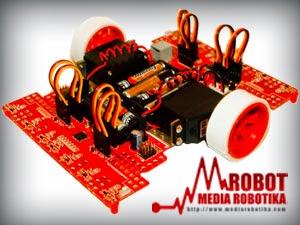 AroX-1 Kit Robot Mantap Untuk Lomba