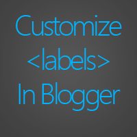 15 styles to customize your label widget in Blogger
