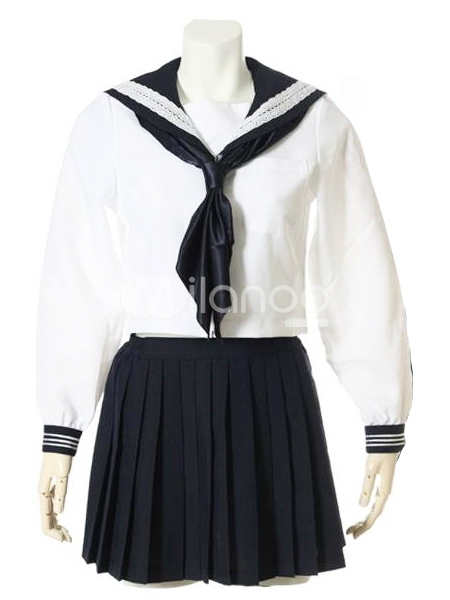 School uniform middy tie how to