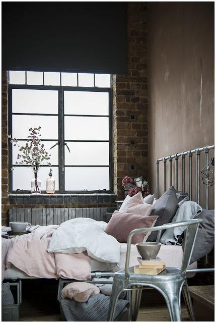 Estilo industrial en el dormitorio