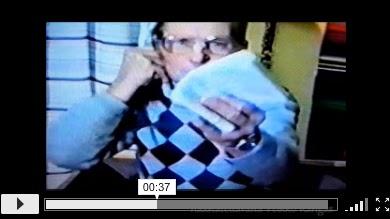 Haastattelussa Veikko Kangas. Lohijärven kylähistorian kuvakavalkaadi, video 1