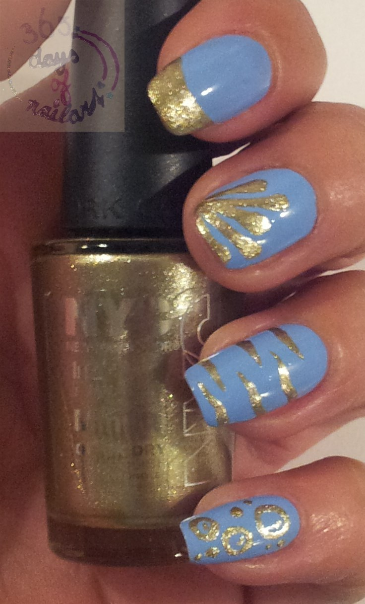 365+ days of nail art: August 2013