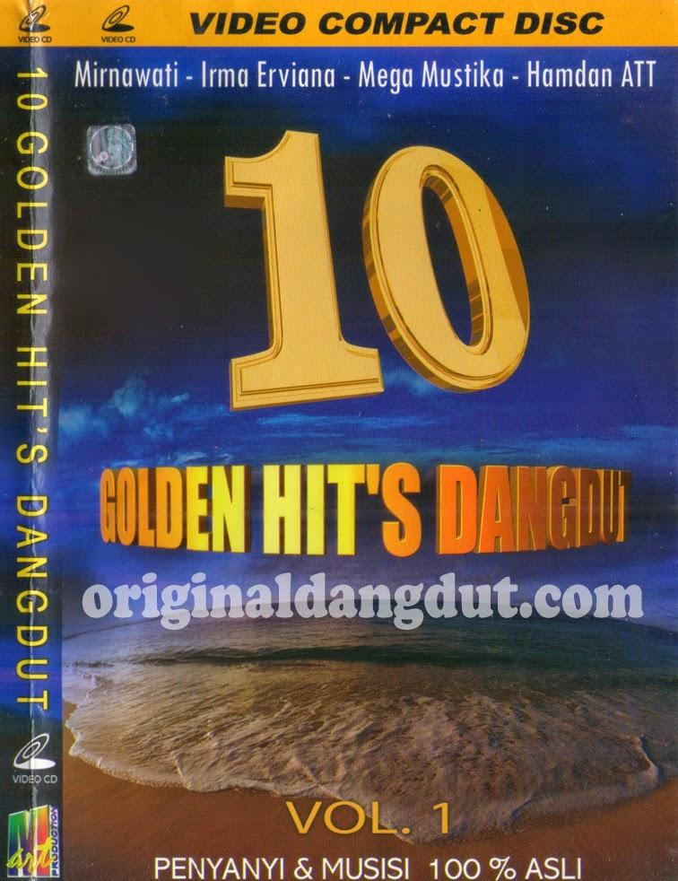 Album 10 Golden Hits Dangdut Vol 1