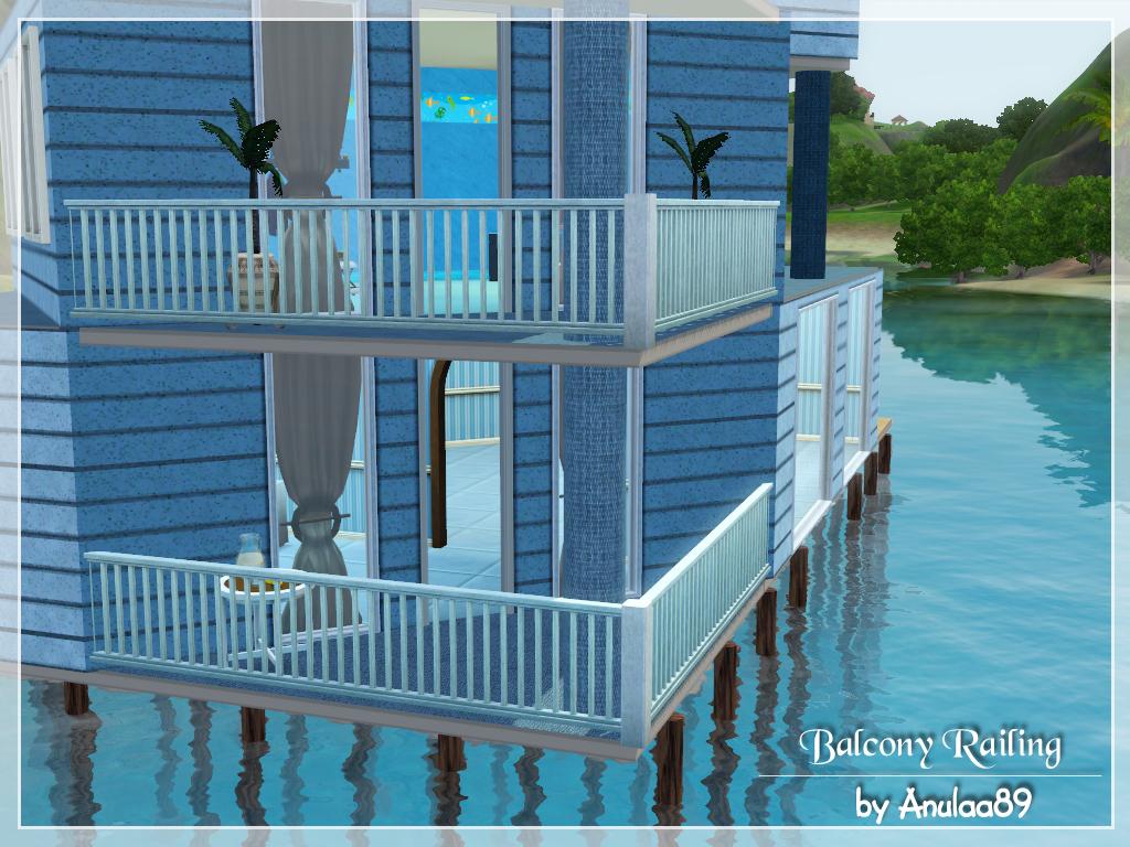 My sims 3 blog balcony railing by anulaa89 for Sims 4 balcony
