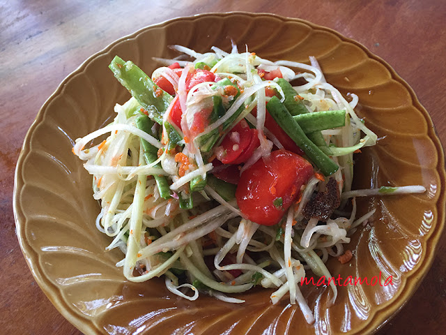 Papaya salad, Thailand
