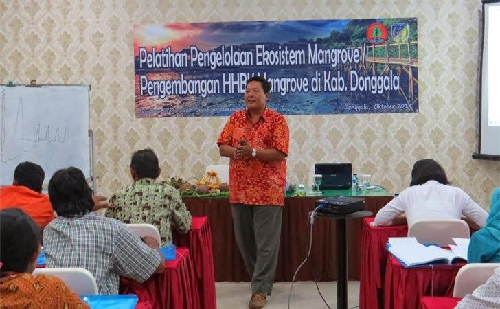 Pembukaan Pelatihan Pengelolaan Ekosistem Mangrove di Kab. Donggala
