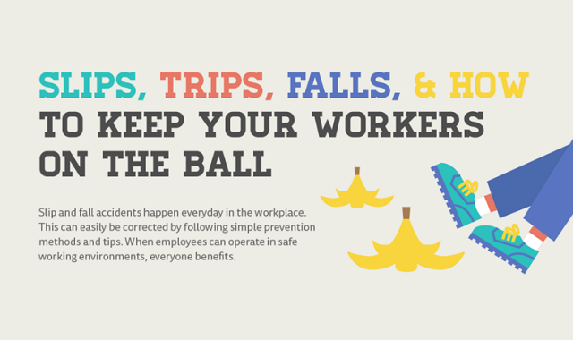 Slips, Trips, Falls and How to Keep Your Workers on the Ball