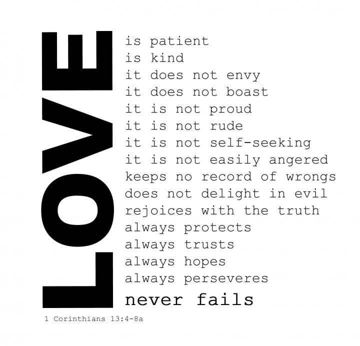 Similiar Love Bible Verse Clip Art Keywords